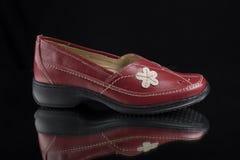 δέρμα παπουτσιών Στοκ Φωτογραφία
