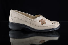δέρμα παπουτσιών Στοκ Εικόνα