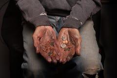 Έσπασε και άστεγοι Στοκ εικόνες με δικαίωμα ελεύθερης χρήσης