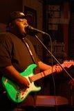 15-έτη παλαιό bluesman σκουμπρί Ingram Christone Στοκ Φωτογραφία