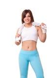 έτοιμη γυναίκα άσκησης στοκ φωτογραφίες με δικαίωμα ελεύθερης χρήσης