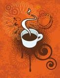 έτοιμη χρήση καφέ ανασκόπησης Στοκ Εικόνα