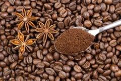 έτοιμη χρήση καφέ ανασκόπησης Στοκ Εικόνες
