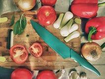 Έτοιμος για το μαγείρεμα Στοκ Φωτογραφίες