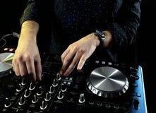 Έτοιμος για το DJ s Στοκ φωτογραφίες με δικαίωμα ελεύθερης χρήσης