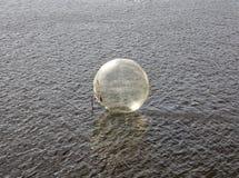 Έτοιμος για Aquazorbing Στοκ φωτογραφία με δικαίωμα ελεύθερης χρήσης