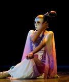 Έτοιμος να ανοίξει τη μάσκα--Κινεζικός λαϊκός χορός Στοκ εικόνα με δικαίωμα ελεύθερης χρήσης