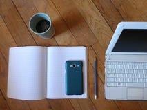 Έτοιμος να εργαστεί - καθαρό διάστημα εργασίας στοκ φωτογραφίες με δικαίωμα ελεύθερης χρήσης