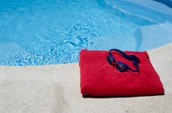 Έτοιμος να κολυμπήσει Στοκ Εικόνες