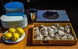 Έτοιμος να μαγειρεψει στο Vigo Στοκ εικόνα με δικαίωμα ελεύθερης χρήσης
