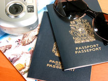έτοιμος να ταξιδεψει στοκ εικόνες