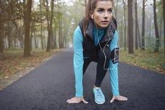 Έτοιμος να τρέξει Στοκ φωτογραφία με δικαίωμα ελεύθερης χρήσης