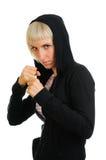 έτοιμος φίλαθλος πάλης &sigma Στοκ Εικόνες