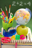 έτοιμο σχολείο Στοκ Εικόνες