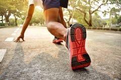 έτοιμο τρέξιμο ατόμων Στοκ φωτογραφία με δικαίωμα ελεύθερης χρήσης