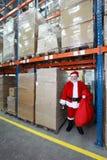 έτοιμο santa Claus Χριστουγέννων Στοκ εικόνες με δικαίωμα ελεύθερης χρήσης
