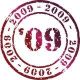 έτος γραμματοσήμων Στοκ Εικόνα