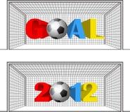 έτος στόχων Στοκ Εικόνα