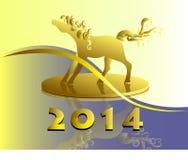Έτος του αλόγου Στοκ Εικόνα