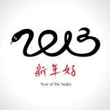 Έτος του φιδιού 2013 Στοκ Εικόνα