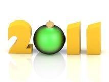 έτος του 2011 ελεύθερη απεικόνιση δικαιώματος