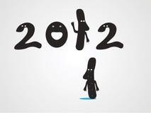 έτος του 2012 Στοκ φωτογραφία με δικαίωμα ελεύθερης χρήσης