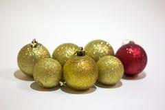 έτος Χριστουγέννων 2007 σφαιρών Στοκ φωτογραφίες με δικαίωμα ελεύθερης χρήσης