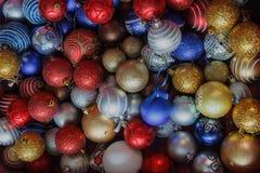 έτος Χριστουγέννων 2007 σφαιρών Στοκ Φωτογραφίες