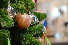 έτος Χριστουγέννων 2007 σφαιρών Στοκ Εικόνα
