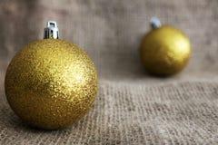 έτος Χριστουγέννων 2007 σφαιρών Στοκ φωτογραφία με δικαίωμα ελεύθερης χρήσης