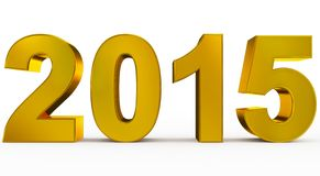 Έτος 2015 Στοκ εικόνα με δικαίωμα ελεύθερης χρήσης