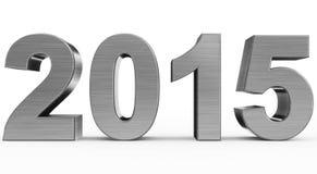 Έτος 2015 διανυσματική απεικόνιση