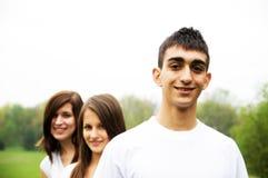 έφηβοι ομάδας στοκ φωτογραφίες