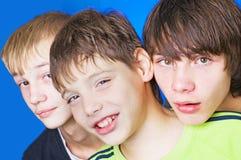 έφηβοι Στοκ Εικόνα
