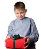 έφηβος δώρων στοκ φωτογραφία