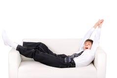 έφηβος επάνω στα ίχνη Στοκ φωτογραφία με δικαίωμα ελεύθερης χρήσης