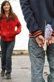 έφηβος ζευγών Στοκ φωτογραφία με δικαίωμα ελεύθερης χρήσης