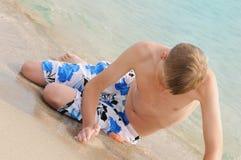 έφηβος θάλασσας Στοκ εικόνα με δικαίωμα ελεύθερης χρήσης