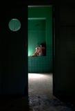 έφηβος κατάθλιψης Στοκ εικόνες με δικαίωμα ελεύθερης χρήσης