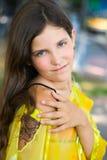 έφηβος κοριτσιών ομορφιά&sigm Στοκ εικόνες με δικαίωμα ελεύθερης χρήσης