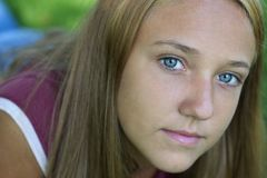 έφηβος κοριτσιών Στοκ Εικόνα