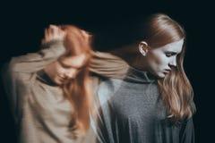 Έφηβος με τη διανοητική ασθένεια Στοκ φωτογραφία με δικαίωμα ελεύθερης χρήσης