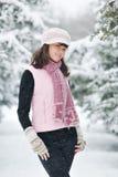 έφηβος πάρκων κοριτσιών Στοκ φωτογραφία με δικαίωμα ελεύθερης χρήσης