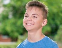 έφηβος πορτρέτου αγοριών Στοκ Εικόνες