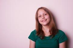 έφηβος πορτρέτου κοριτσιών Στοκ Φωτογραφίες