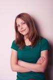 έφηβος πορτρέτου κοριτσιών Στοκ φωτογραφίες με δικαίωμα ελεύθερης χρήσης