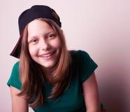 έφηβος πορτρέτου κοριτσιών Στοκ Εικόνα