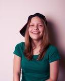 έφηβος πορτρέτου κοριτσιών Στοκ φωτογραφία με δικαίωμα ελεύθερης χρήσης