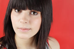 έφηβος πορτρέτου κοριτσ&io Στοκ εικόνες με δικαίωμα ελεύθερης χρήσης