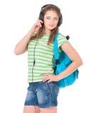 έφηβος σπουδαστών κοριτσιών Στοκ εικόνα με δικαίωμα ελεύθερης χρήσης